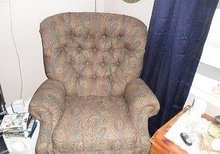 PAISLEY RECLINER CHAIR